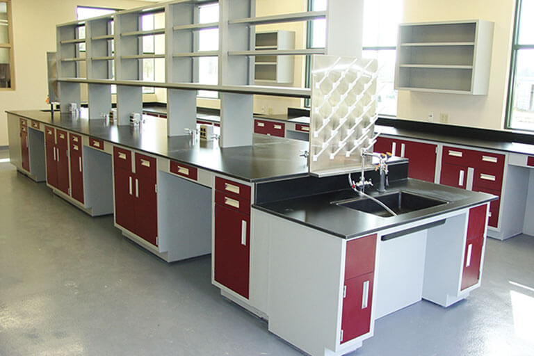 Metal Casework for Commercial Labs