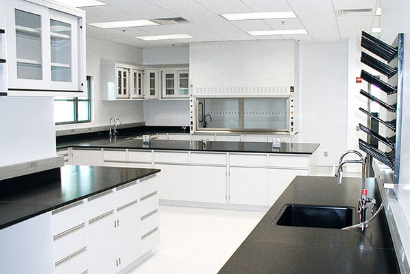 Casework for Commercial Labs