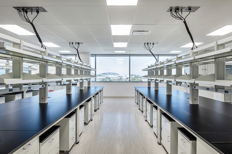 Flex Lab Benches for Commercial Labs