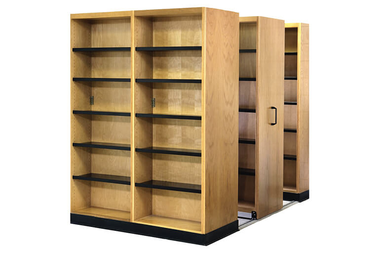 High-Density Shelving for Educational Labs