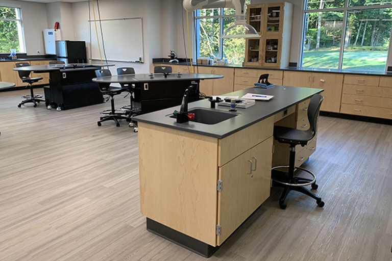 Instructor Desk for Educational Labs