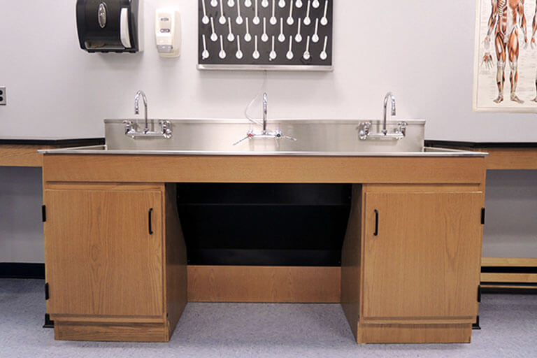 Utility Sinks for Educational Labs
