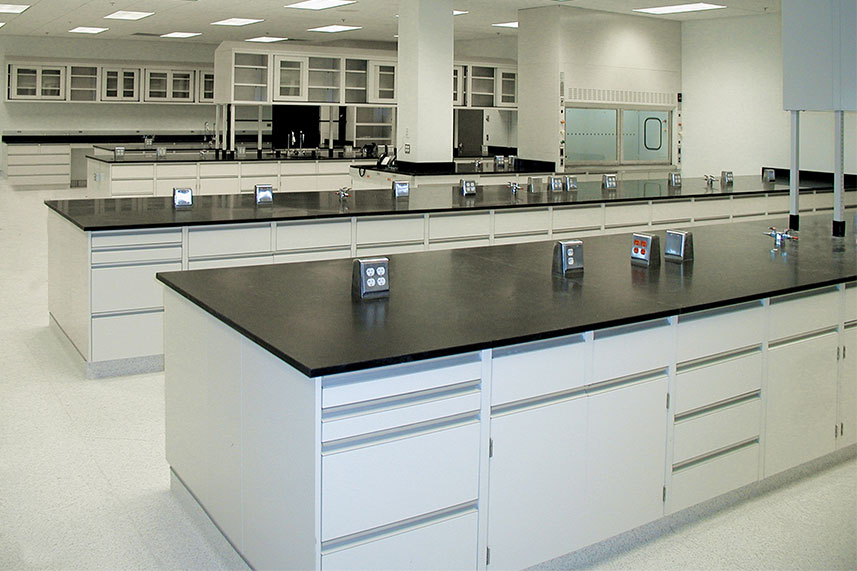 Metal Casework in a Commercial Lab