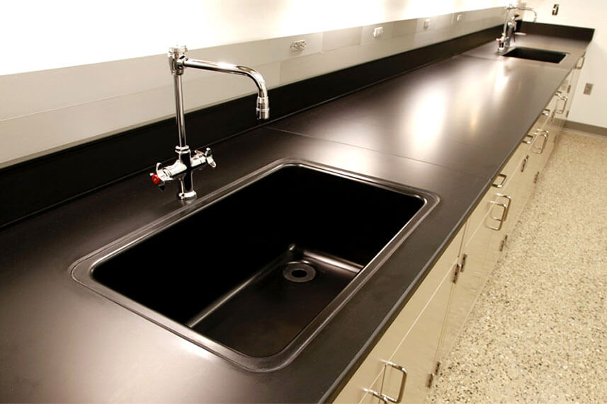 Sink + Fixtures in a Commercial Lab