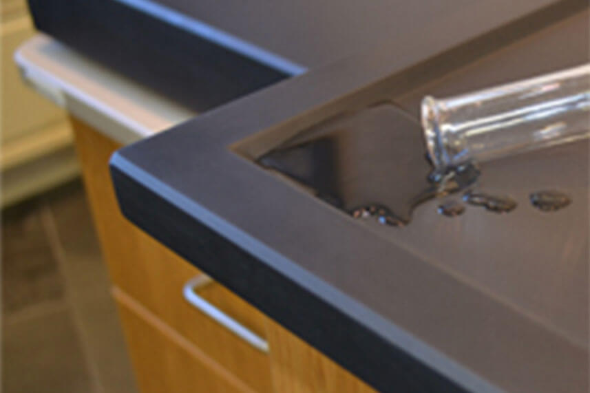 Work Surface in a Commercial Lab