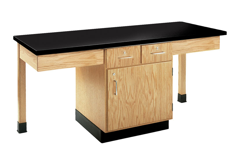 Island + Pier Table for an Educational Lab
