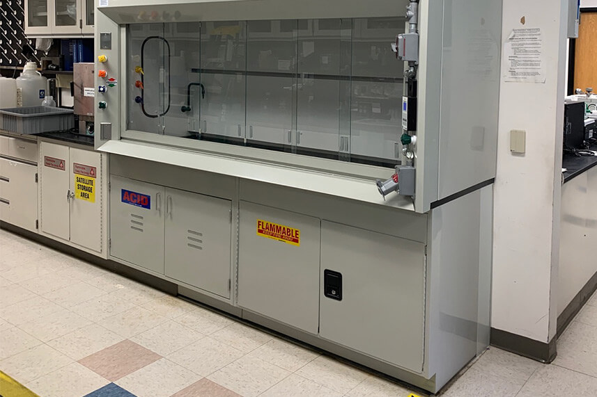 Safety Cabinet for an Educational Lab