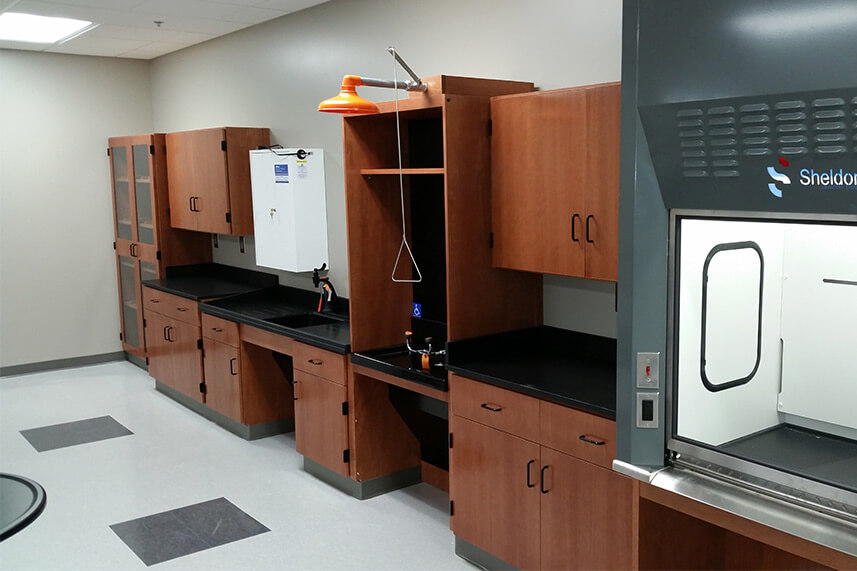 Safety Station for an Educational Lab