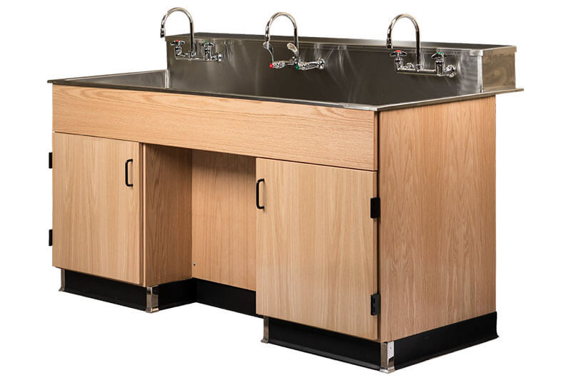 Utility Sink Station for an Educational Lab