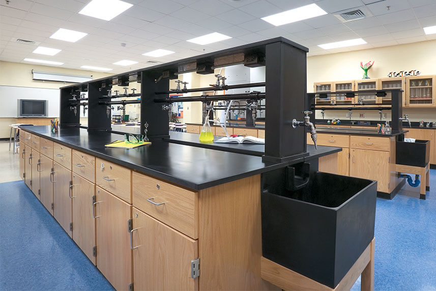 Wood Casework for Educational Labs