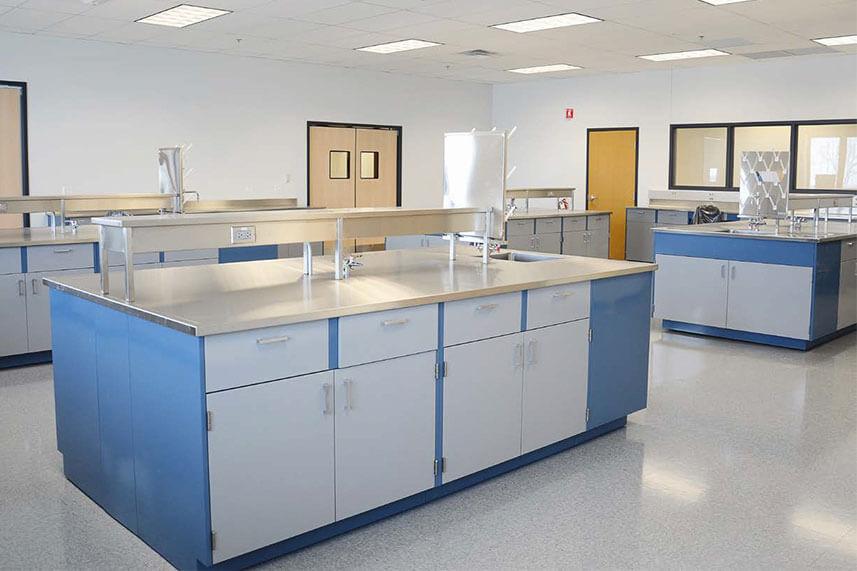 Metal Casework for Educational Labs