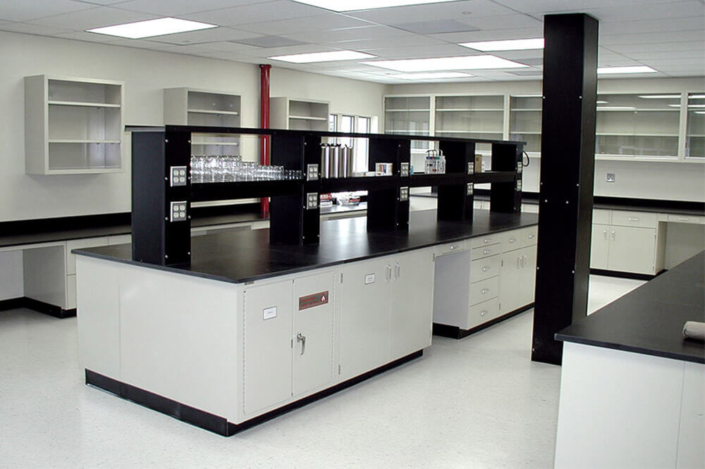Longo Labs commercial installations of a chemical lab