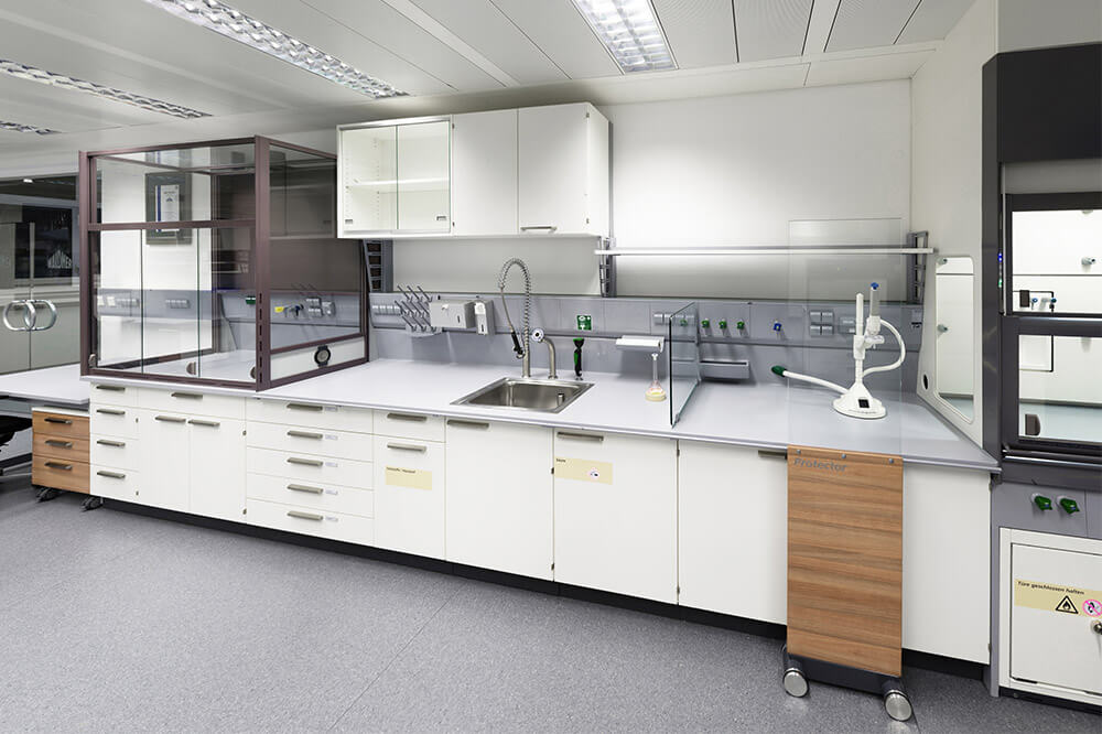 Longo Labs commercial installations of a clinical lab