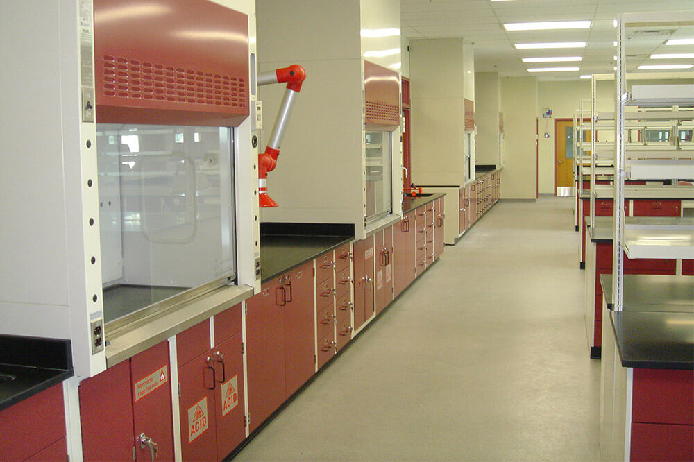 Longo Labs commercial installations of a forensic lab
