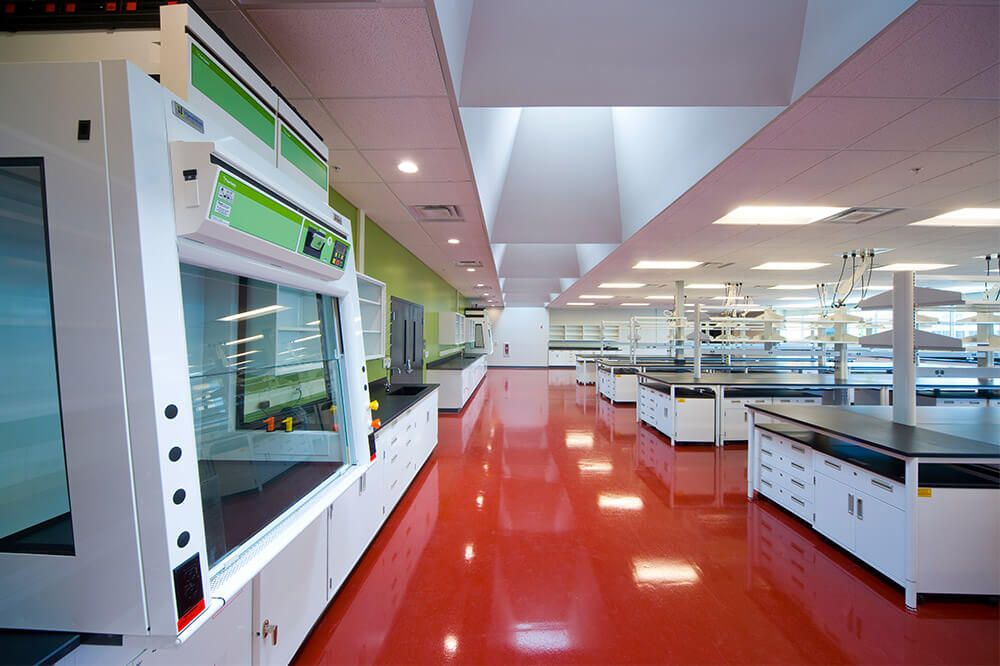 Longo Labs commercial installations of a research facility