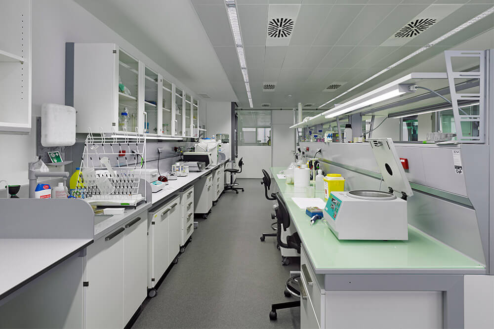 Longo Labs commercial installations of a testing lab
