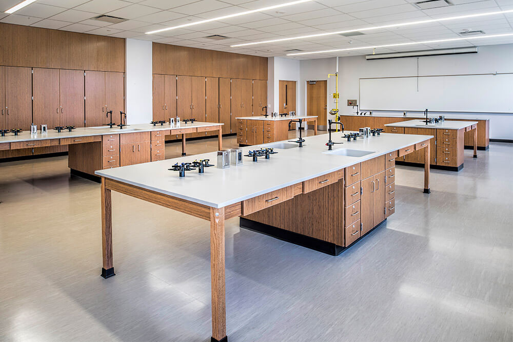 Longo Labs products in a chemistry room
