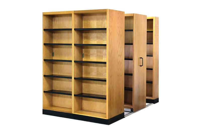 Longo Labs Commercial High Density shelving
