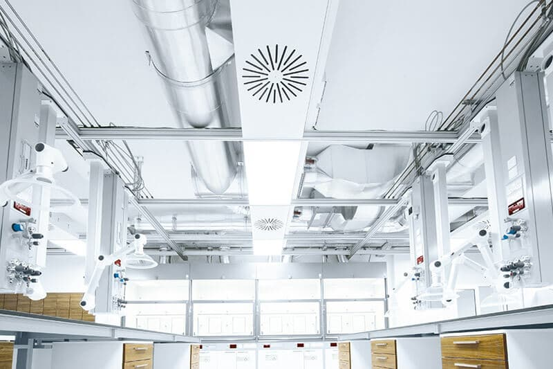 Longo Labs Service Ceiling Grid