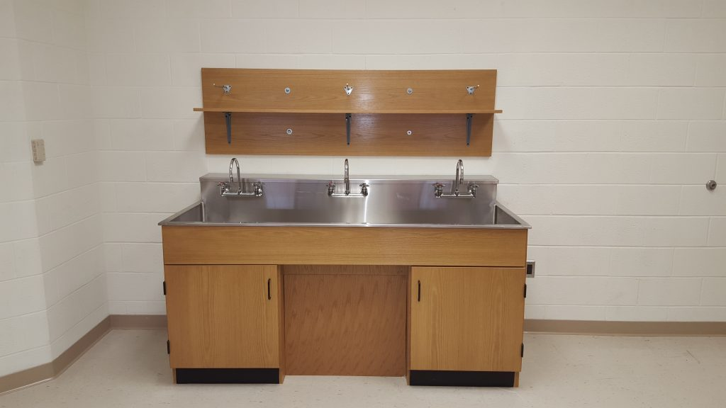 Sheldon Wall Sink Center