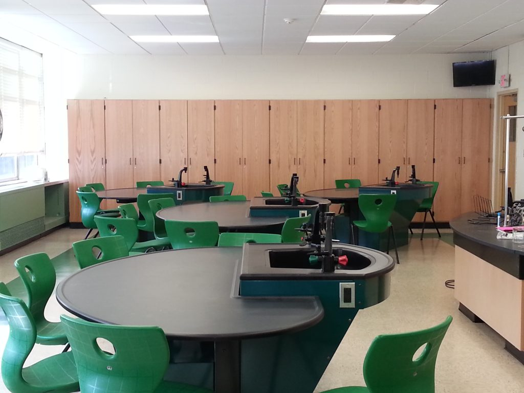 Axis Infinity Student Laboratory Tables
