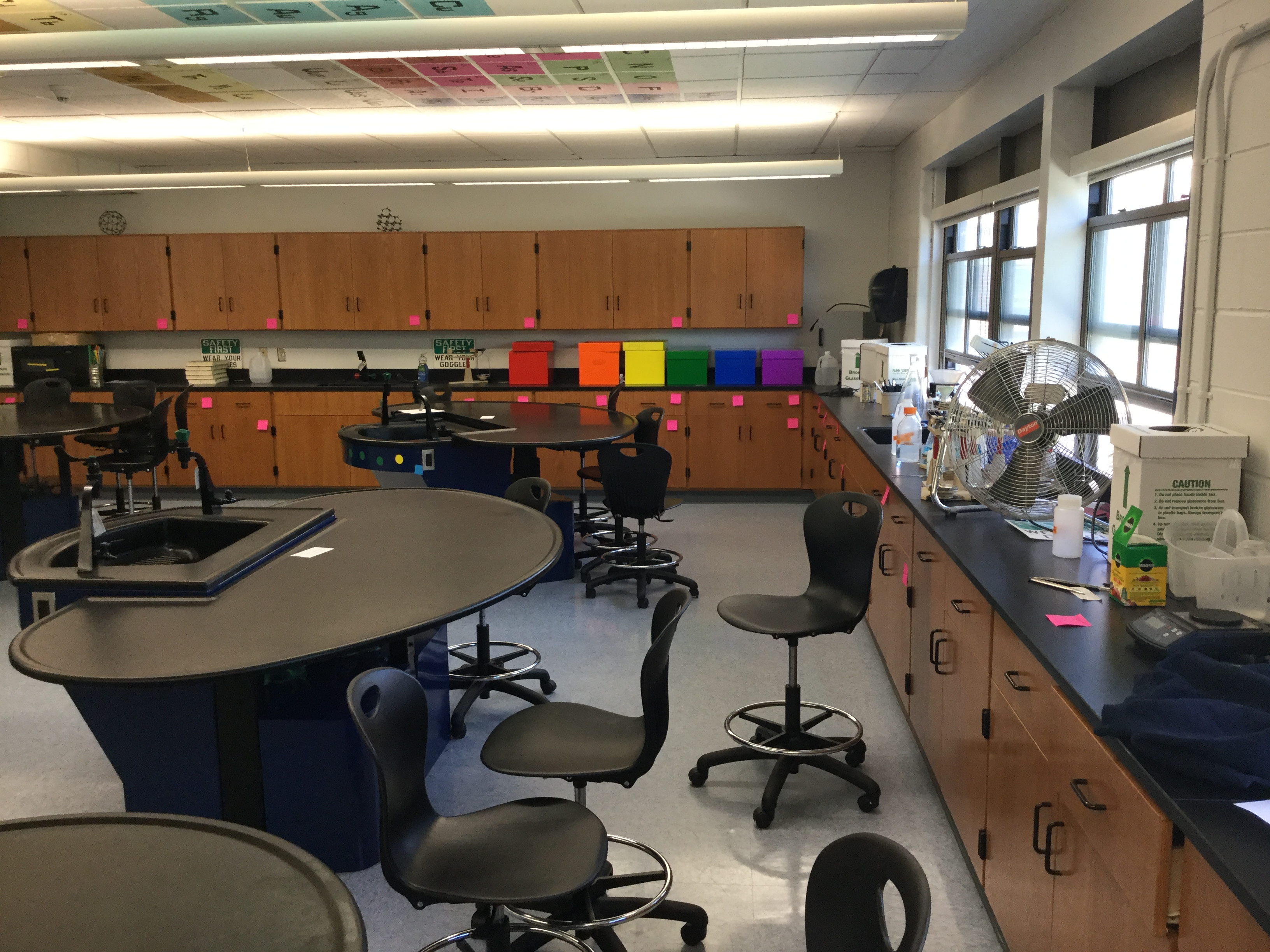 Classroom Design With Tables ~ Upgraded furnishings and modern design finishes for st