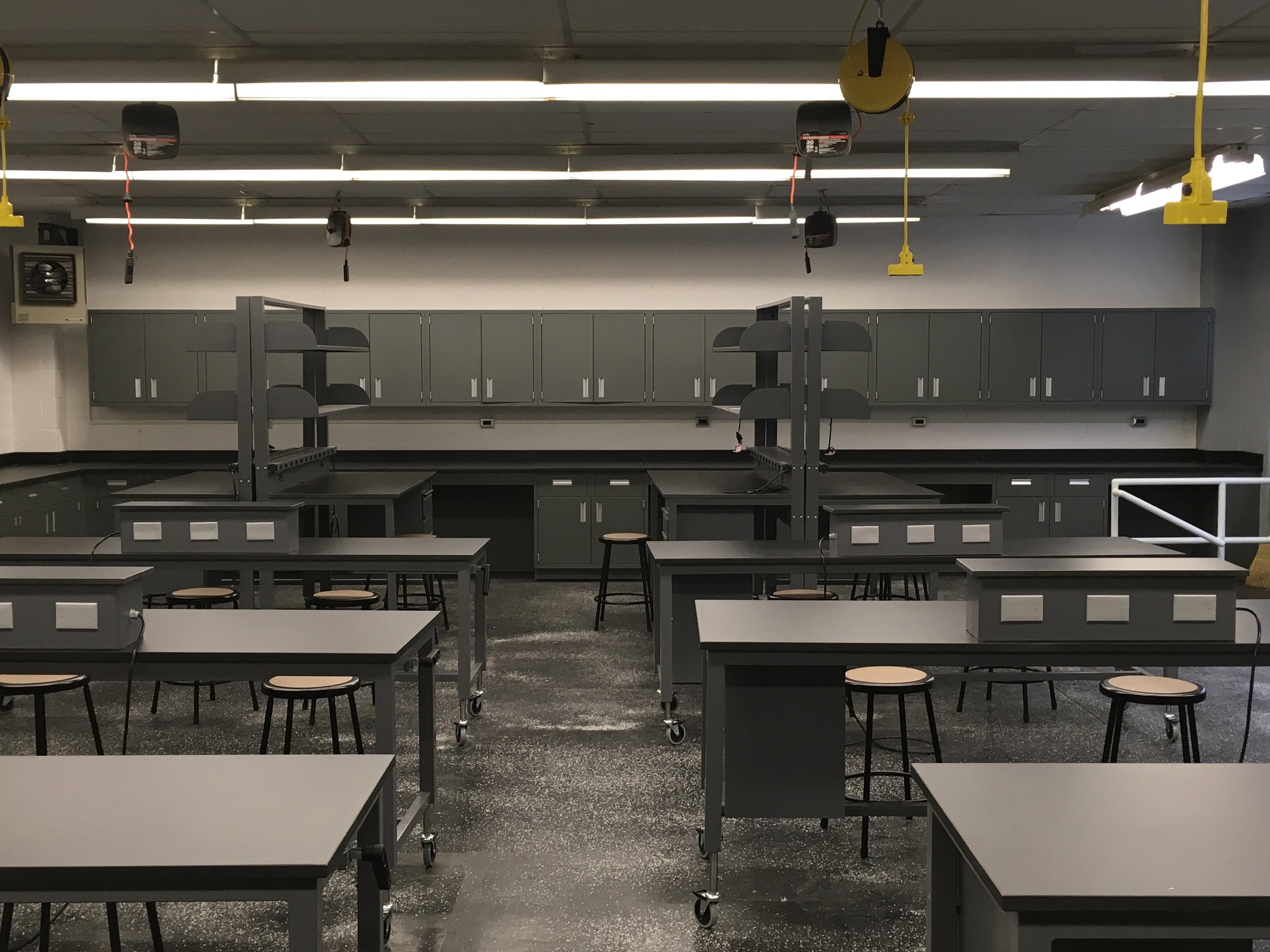 Ultra Modern Classroom ~ Hoboken high school infusing technology into labs with the