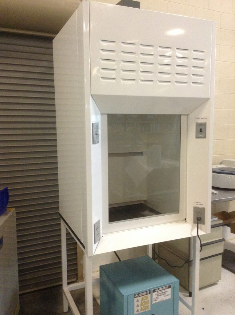 Air Foil Fume Hood with built-in blower