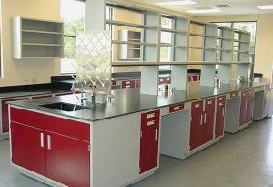 Metal Laboratory Casework