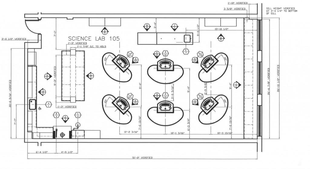 Nyack HS Chem Lab Sketch