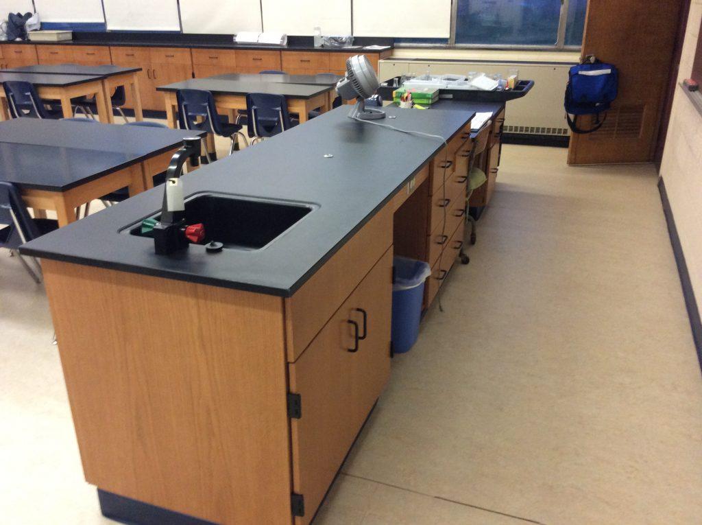 Teacher's Demonstration Desk