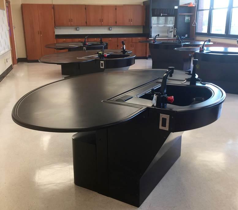 Memorial High School Science Lab