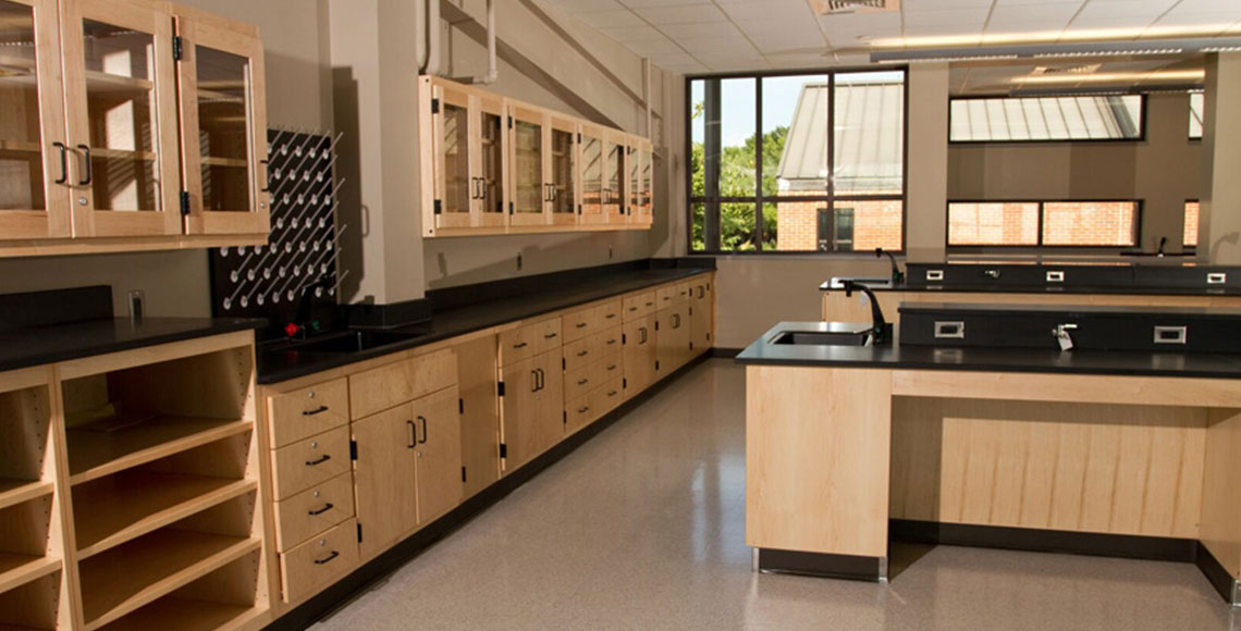 Sheldon Wood Laboratory Casework
